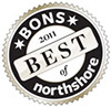 2010 Best Indoor Destination Award from Boston's Best of the North Shore