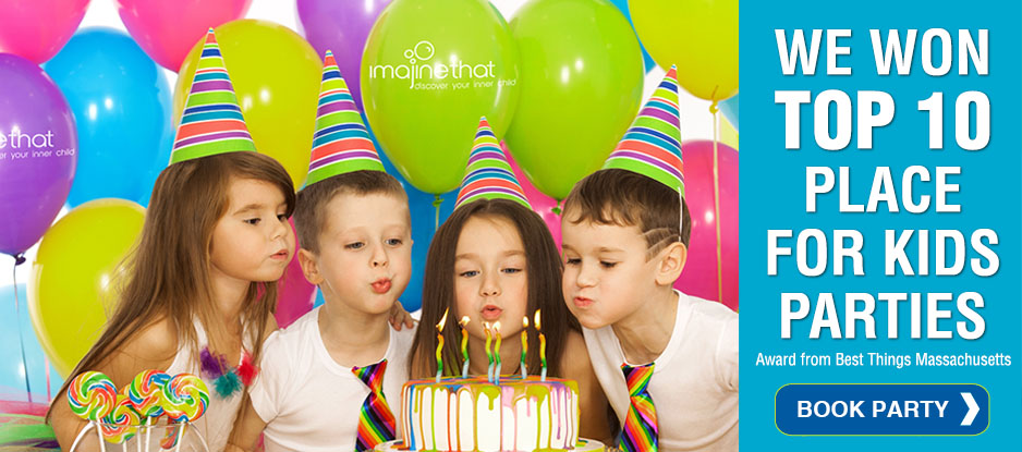 Top 10 Place in MA for Kids Birthday Parties